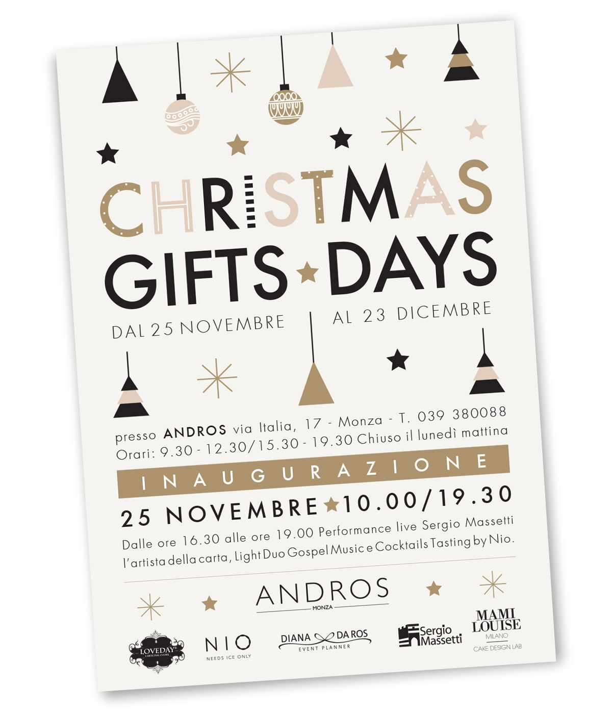 Invito-CHRISTMAS-GIFTS-DAYS-2017 by Diana Da Ros