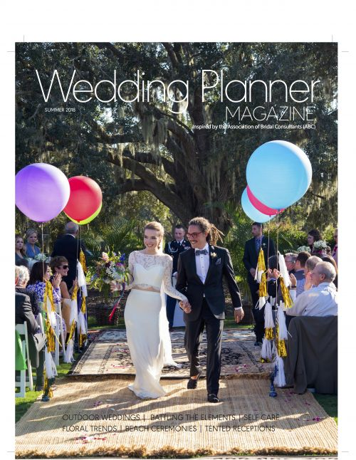 Diana Da Ros su wedding planner magazine summer issue cover