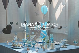 allestimento babyshower party totale (Diana Da Ros - Event Planner)