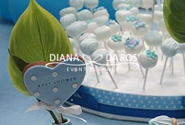 decorazioni cookie babyshower (Diana Da Ros - Event Planner)