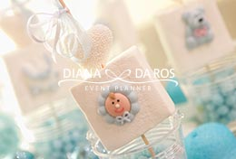 dettaglio marshmallows decorato (Diana Da Ros - Event Planner)