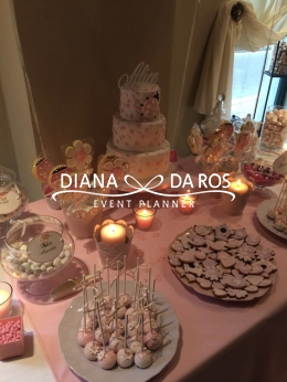 pink sweet table (Diana Da Ros - Event Planner)