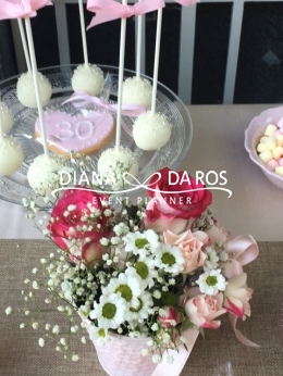 Flowers details pink (Diana Da Ros - Event Planner)