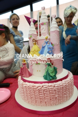 birthdaycake princessparty (Diana Da Ros - Event Planner)