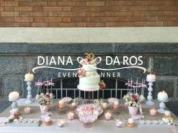 romantic sweettable (Diana Da Ros - Event Planner)