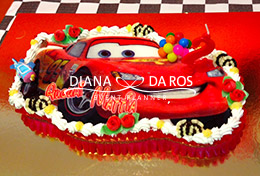 torta cars compleanno (Diana Da Ros - Event Planner)