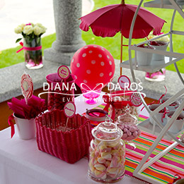 sweet table caramelle dettaglio (Diana Da Ros - Event Planner)
