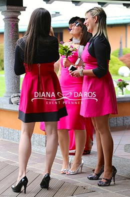 women in fucsia (Diana Da Ros - Event Planner)