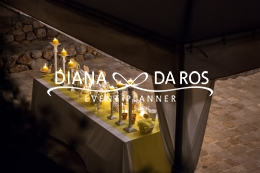 Yellow sweettable wedding confettata (Diana Da Ros - Event Planner)
