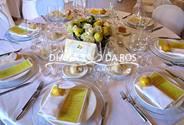 tavola mise en place lemon wedding (Diana Da Ros - Event Planner)