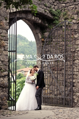 ingresso sposi in location (Diana Da Ros - Event Planner)