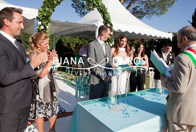 Celebrazione matrimonio in giardino - Matrimonio in giardino ...