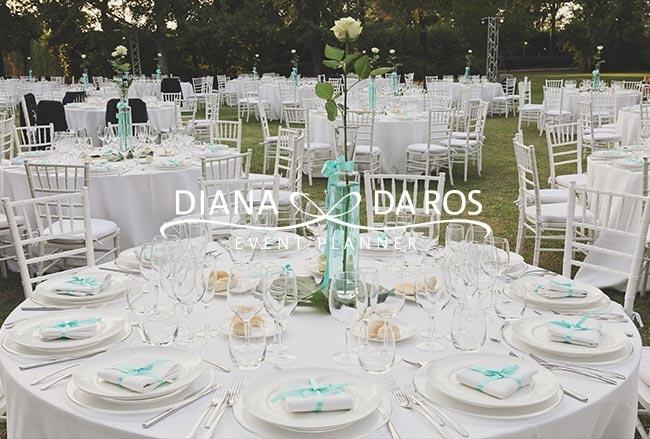 Addobbi Matrimonio Azzurro Tiffany : Tavoli tiffany wedding
