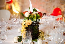 centrotavola wine wedding (Diana Da Ros - Event Planner)