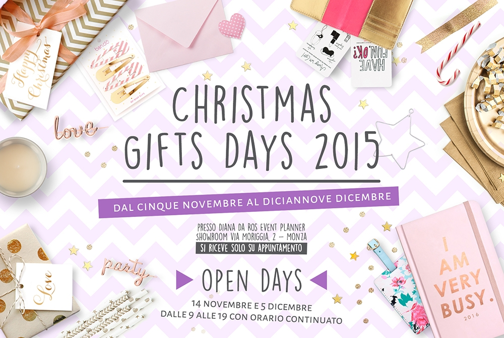 CHRISTMAS GIFTS DAYS 2015