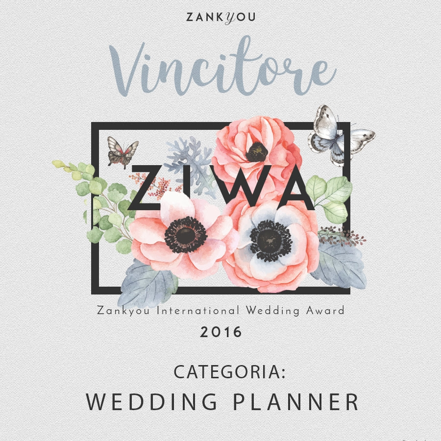 DIANA DA ROS ZIWA 2016 WEDDING PLANNER AWARD